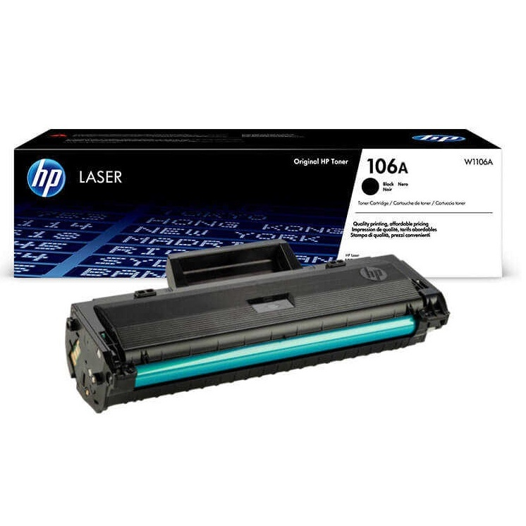 HP 106A W1106A HP M107,MFP 135,MFP 137 Chipli Orginal Toner Quality Prints Reliable Sturdiness Superior Results Favorable Price