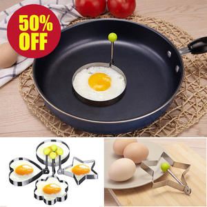 Egg-Shaper Mold Kitchen-Tools-Accessories Pancake-Ring Circle Stainless-Steel Fried