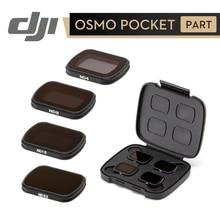 DJI Osmo Pocket ND zestaw filtrów ND 4 8 16 32 konstrukcja magnetyczna wysokiej jakości materiał redukujący światło oryginalne akcesoria DJI