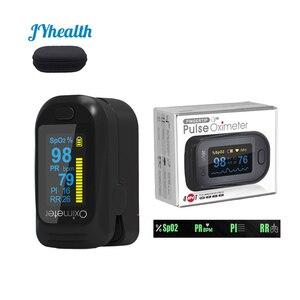 Image 1 - Медицинский Oled Пульсоксиметр SPO2 медицинский портативный кислород для крови с пульсоксиметром дыхания подходит для семьи