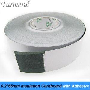 1 м 65 мм 18650 батарея изоляционная прокладка литий-ионная упаковка изоляционная отделка для приклеивания картона с