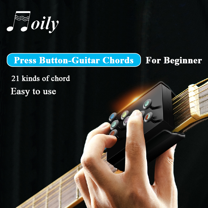21 Chords Guitar Learning System Practice Aid Tools for Beginners Training accessories Jiaji Guitar Chord Learning System//Guitar Learning Tools