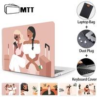 Mttラップトップスリーブケースmacbook proの13 2020カバーmacbook proの空気11 12 13 15 16インチタッチバーfundaラップトップバッグ