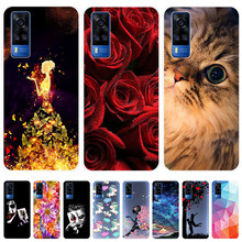Voor Vivo Y31 2021 Case Silicone Soft Tpu Telefoon Case Voor Vivo Y31 2021 Y 31 VivoY31 Case Back Cover 6.58''
