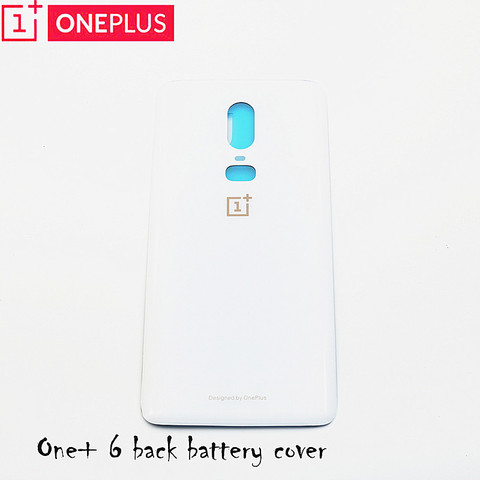 For Oneplus 6 Glass Battery cover Door Smart Phone Back Cover Replacement Repair Part for one plus 6 1+6 6.28 inch Multan
