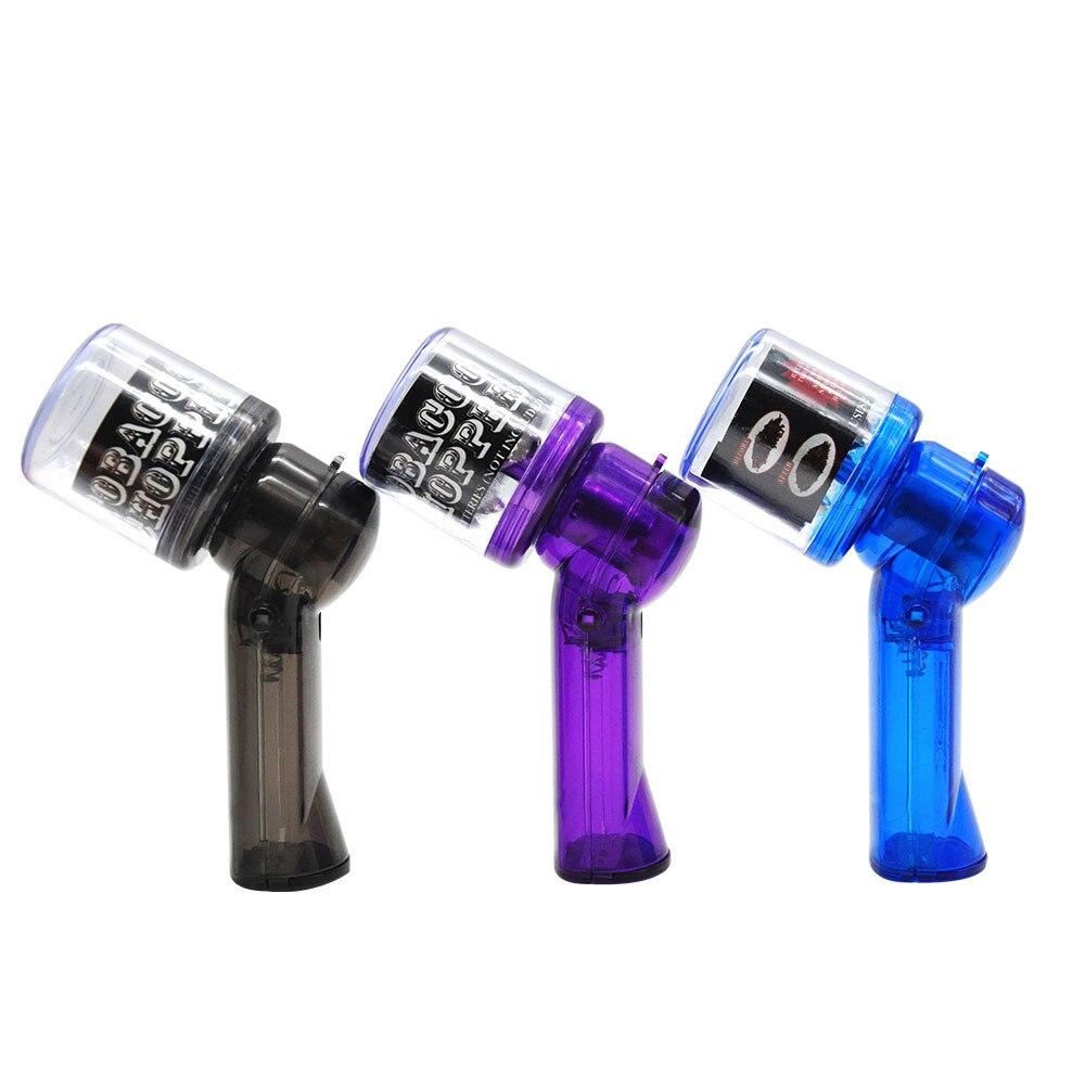 Hornet пластиковая электрическая размольщица для сигарет автоматическая мельница небольшой размер измельчитель металлическая мельница для ...