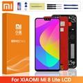 Оригинальный ЖК-дисплей для Xiaomi Mi 8 Lite ЖК-дисплей сенсорный экран дигитайзер сборка с рамкой для Xiaomi Mi8 Lite Mi 8X LCD