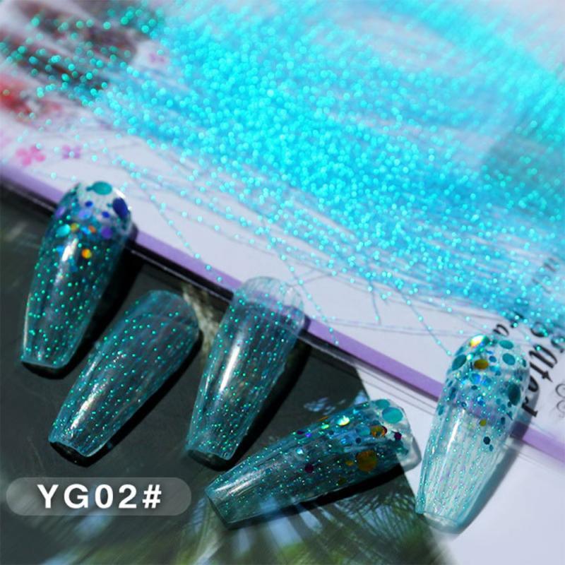 100 adet tırnak floresan ipek tırnak sanat fiberglas iplik formu uzatma çivi jel İpuçları renkli DIY manikür aracı tırnak dekor