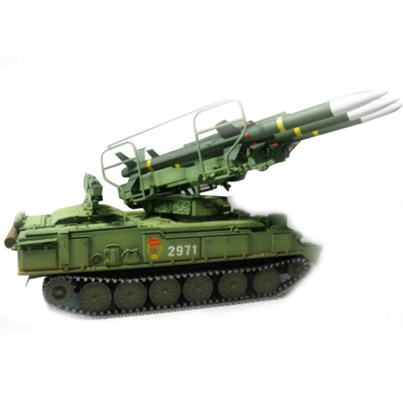 1:35 Durable Educational Antiaircraft Missile Model Kit Plastic Training Tank Russian Assembly Trumpeter Toys