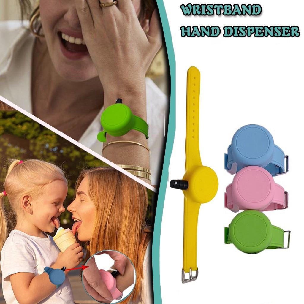 Sanitizer Bracelet Hand Sanitizer Dispensing Portable Bracelet Wristband Hand Dispenser Dispenser Bracelet Pulsera Dispensadora