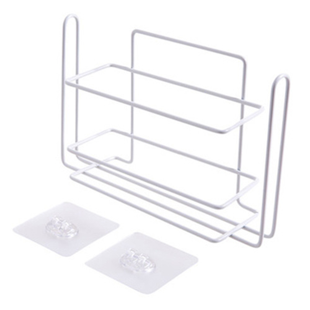 Kitchen Space Saving Storage Shelf Wall Mounted Kitchen Rack Wardrobe Holders