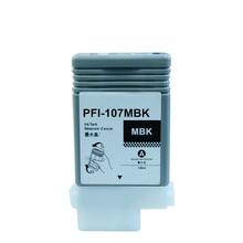 PFI 107 ตลับหมึกสำหรับ Canon IPF670 IPF680 IPF685 IPF770 IPF780 IPF785 IPF 670 IPF 770 IPF 670 770 PFI107 PFI พร้อมขั้วต่อขา 107