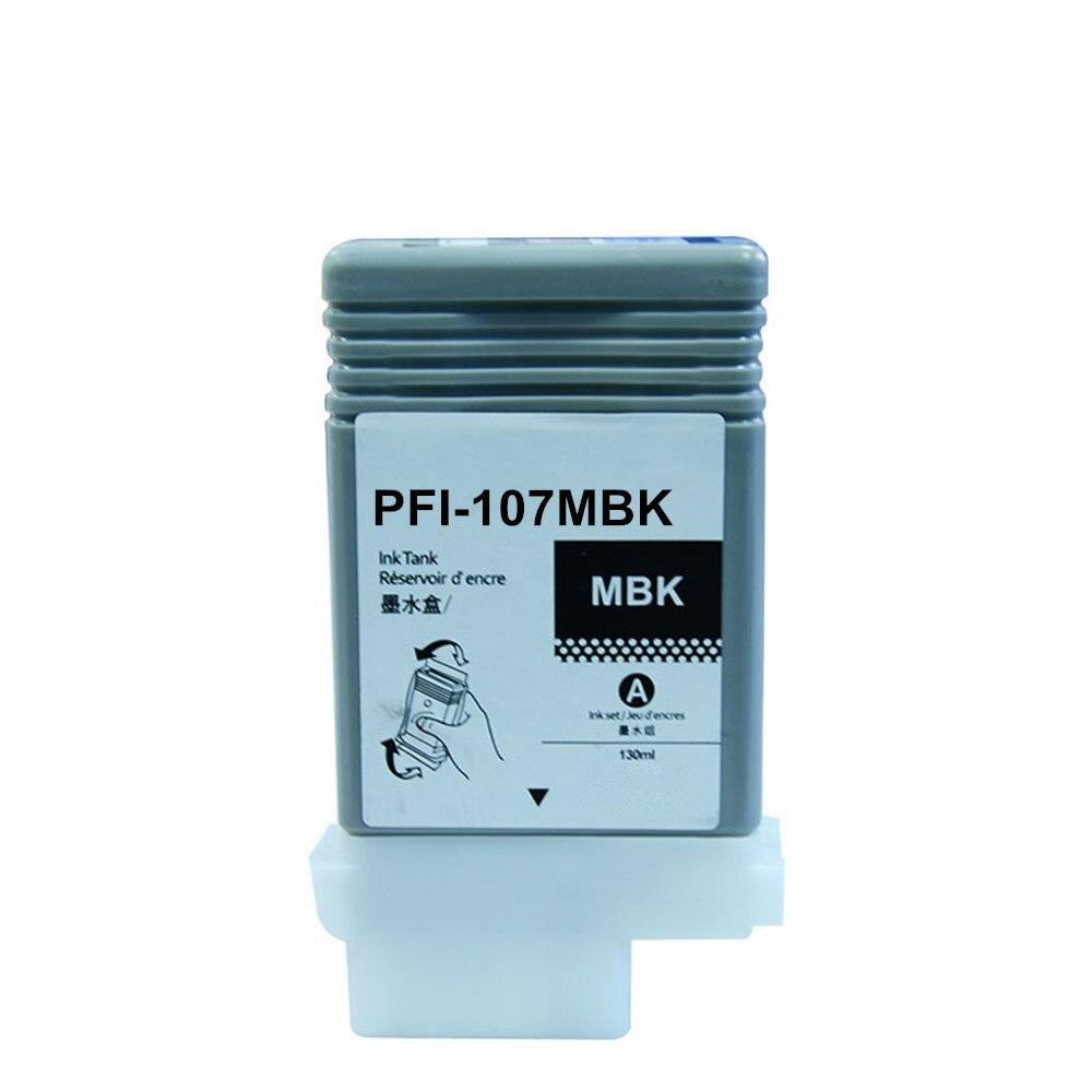 PFI 107 Совместимый картридж для Canon IPF670 IPF680 IPF685  IPF770 IPF780 IPF785 IPF 670 IPF 770 IPF 670 770 PFI107 PFI  107Чернильные картриджи