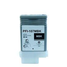 PFI 107 uyumlu mürekkep canon için kartuş IPF670 IPF680 IPF685 IPF770 IPF780 IPF785 IPF 670 IPF 770 IPF 670 770 PFI107 PFI 107