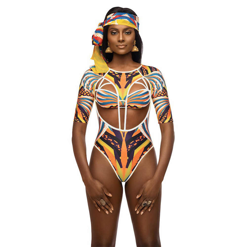 Wanita Fashion Afrika Pantai Renang Pakaian Renang Ankara Bikini Baju Renang K Berlaku Femme Bazin Dashiki Baju Renang India Biquini