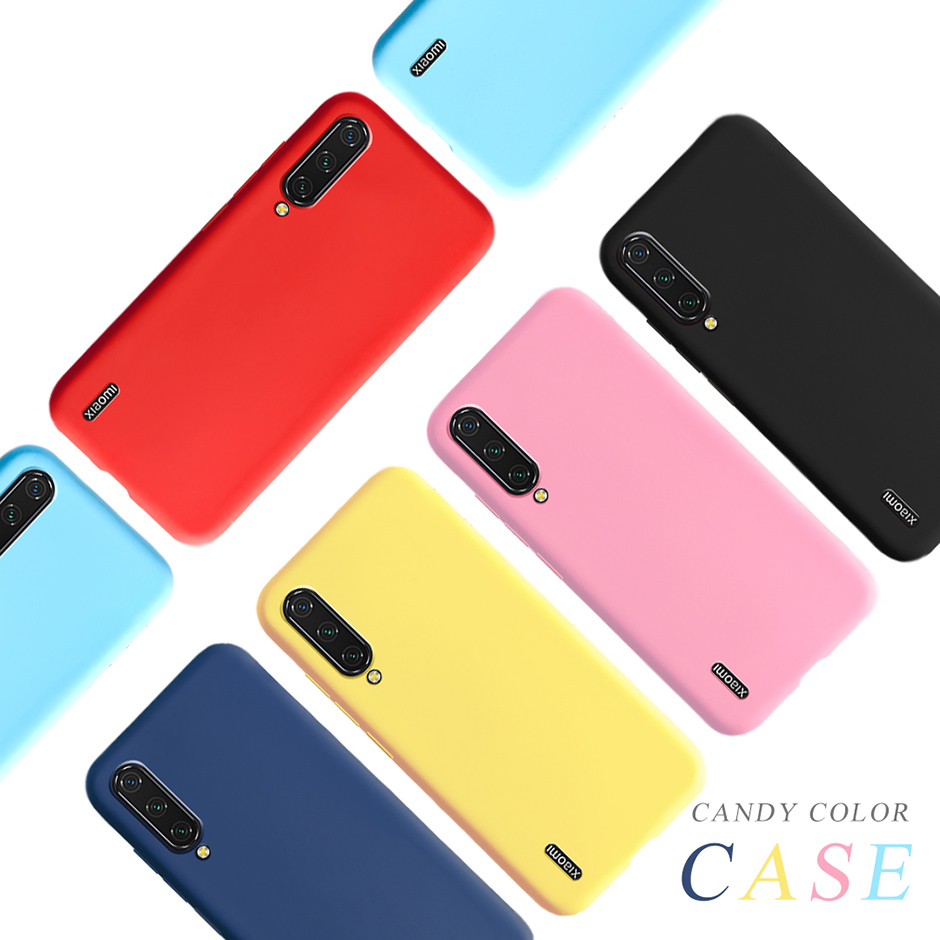 Candy Color Case For <font><b>Xiaomi</b></font> <font><b>MI</b></font> <font><b>A3</b></font> <font><b>Cover</b></font> Silicone Matte Phone Case For <font><b>Xiaomi</b></font> MiA3 <font><b>MI</b></font> A 3 <font><b>A3</b></font> Lite Soft TPU Back <font><b>Cover</b></font> Bumper image