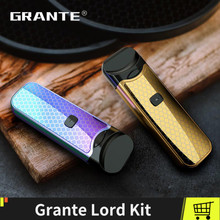 100% Original Grante Lord Kit With Vape Pen Pod 1100mAh Battery Ceramic Regular Mesh MTL  Coil Vaporizer Ecigs
