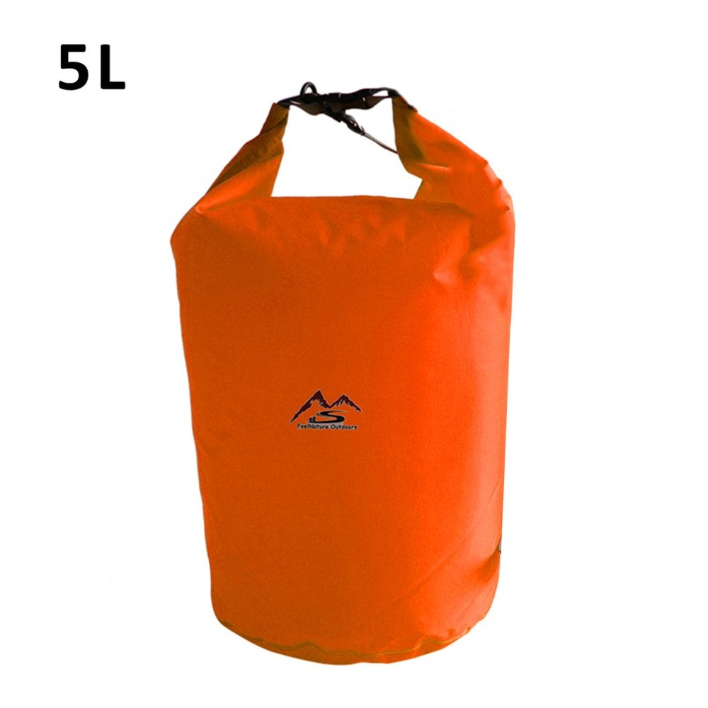 NEW 5L/10L/20L/40L Outdoor Dry Waterproof Dry Bag Sack Waterproof Floating Dry Gear Bags For Boating Fishing Rafting Swimming