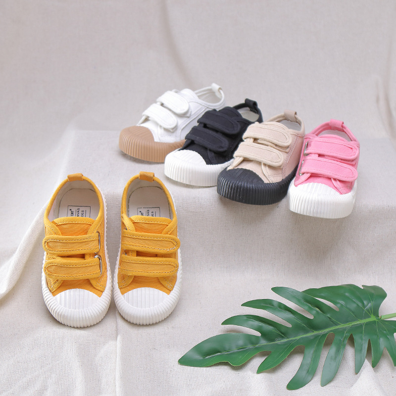 2020 Spring New Candy Color Kids Shoes For Girl Soft Sole Children Shoes Boys Sneakers Comfortable To Wear Shoes Kids C12201