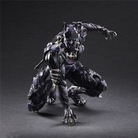 anime movie game hot sale Play Arts 27cm Marvel Avengers Black Panther Super Hero Pvc Action Figure Model doll Toy figurine