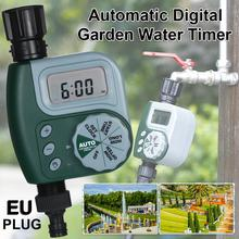 Automatic Digital Garden Water Timer Watering Irrigation System Controller with Filter Auto Timer Outdoor Irrigation Garden neje zj0025 2 electronic lcd garden auto water timer irrigation system w solar power grey