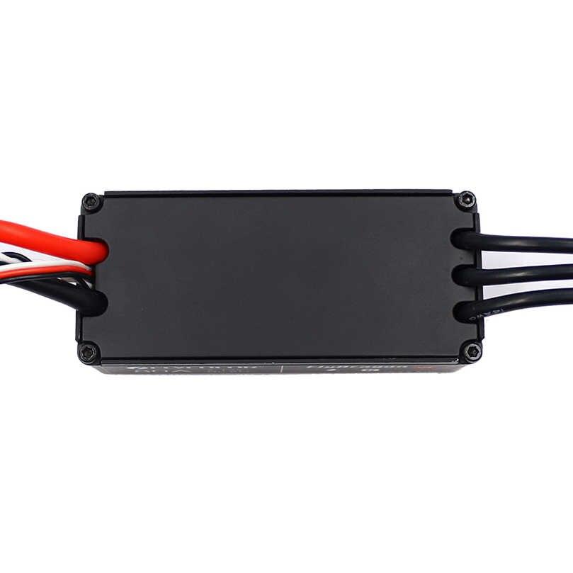 Flycolor Водонепроницаемый Высокое напряжение бесщеточный ESC 80A HV регулятор скорости Поддержка 5-12S для радиоуправляемого дрона квадрокоптера