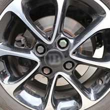 For Smart Fortwo Forfour 450 451 453 Exterior Wheel Hub Center Modified Accessories For Brabus Car Sticker Styling 56mm