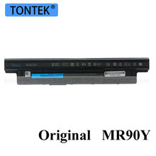 Genuine MR90Y Bateria Do Portátil Para Dell Inspiron 3521 3721 5421 5521 5721 3421 3437 3537 5437 5537 3737 5737 XCMRD Originais Akku