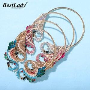 Женское колье-чокер с хрустальной бабочкой, свадебное ювелирное изделие в стиле бохо