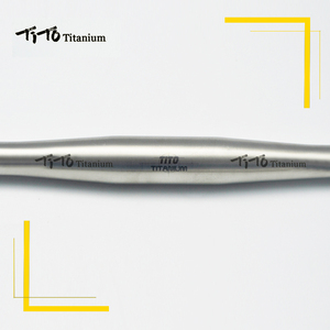 Image 3 - משלוח חינם של MTB טיטניום אופני כידון שטוח כידון 31.8 או 25.4*600/620/640/660 /680/700/720mm עיצוב מותאם אישית לוגו