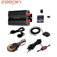 Zeeepin TK103A Vehicle GPS Tracker Portable Real Time Anti Theft Alarm Tracking Locator For Car Kid Elder Pet