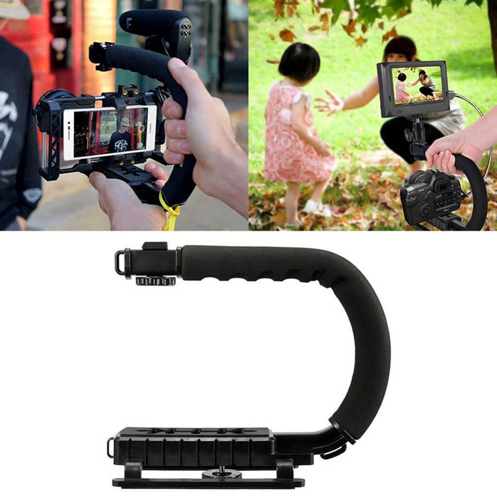 الملحقات الإلكترونية فيديو حامل استقرار C شكل قبضة اليد للكاميرا