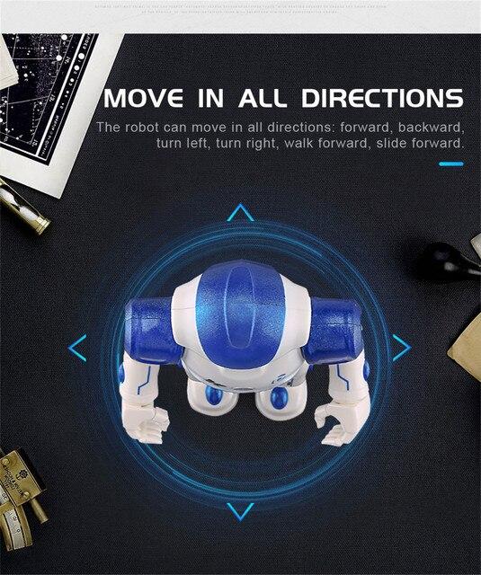 كادي-روبوت ذكي يعمل بالتحكم عن بعد مع جهاز تحكم عن بعد ويسو ، لعبة إلكترونية ، إيماءات ، حساس يعمل باللمس ، لعبة رقص ذكية للأطفال 4