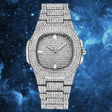 ARLANCH ICE Starry Rhinestone Out Role Hip Hop Watch Diamond Watch