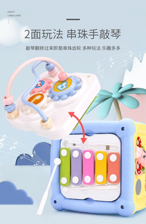 quebra-cabeça recarregável 0-1 anos e 6 meses brinquedos musicais