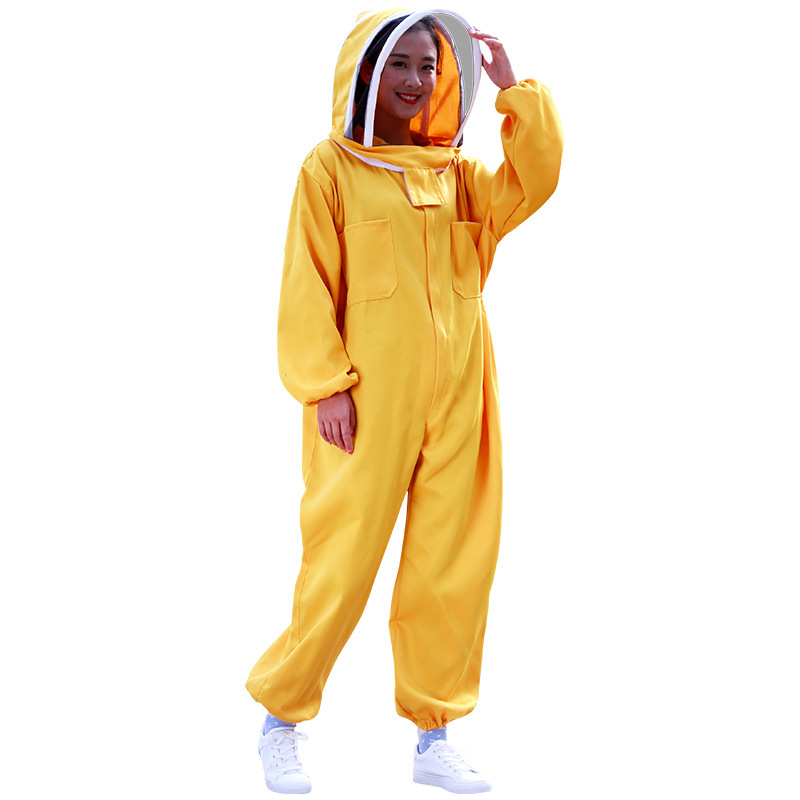 Special thick beehive jacket, space suit, beekeeping tools, beehive clothing, cotton beehive hat bees and beekeeping suit