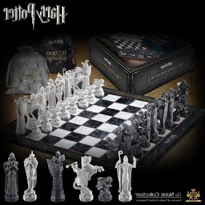 Harried Potter Final Challenge Wizard Chess Set Collection Toy Tile Games