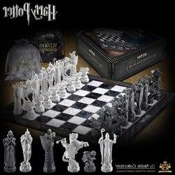 Juego de ajedrez Harried Potter Desafío Final mago colección de juegos de azulejos de juguete