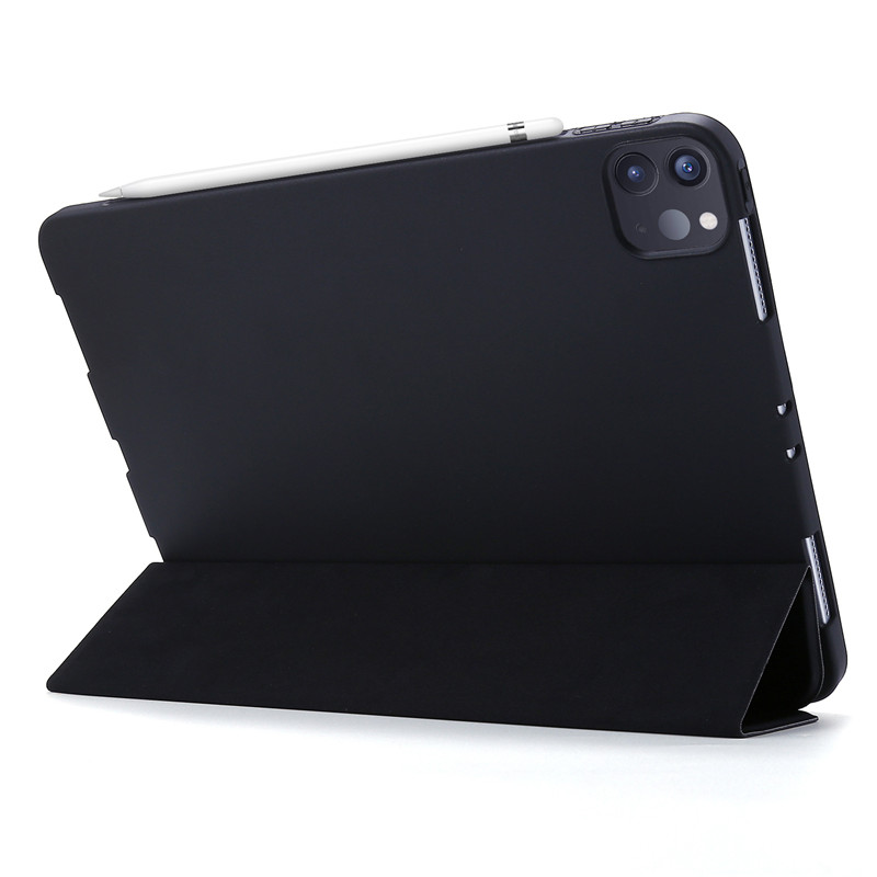 Cover For Tri-fold Leather iPad PU For Case 2020 Case 11Pro Smart Case Silicone Soft
