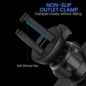 Image 2 - FDGAO Support De Voiture Chargeur Sans Fil Qi Pour iPhone 11 Pro XS Max X XR 8 chargeur de Charge Rapide Sans Fil De Téléphone De Voiture support pour samsung S9 S10