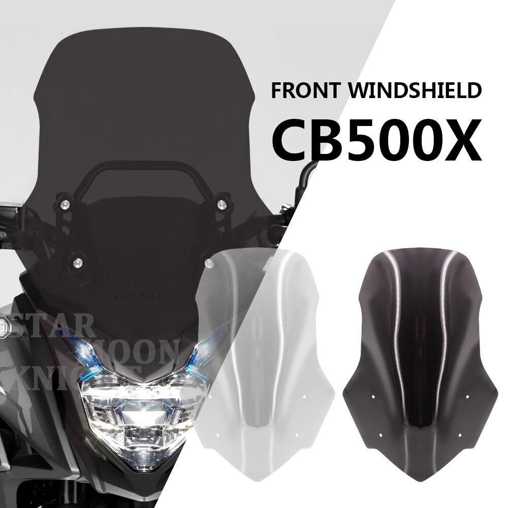 Motorcycle Windscreen Windshield Deflector Protector Motorcycle Wind Screen Moto For Honda CB500X CB 500 X 2012-2020 2019 2018
