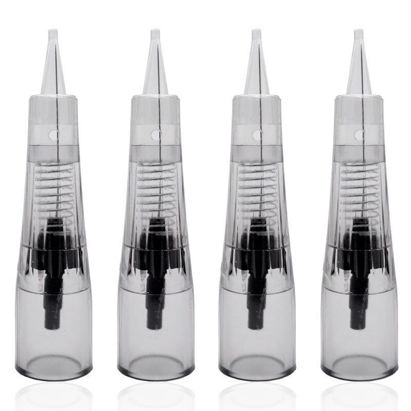 Professional Permanent Makeup Cartridge Needles 1R/2R/3RL/5RL For Biomaser Disposable Sterilized Tattoo Pen Machine Needles Tips