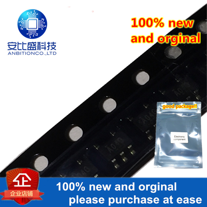10pcs 100% New And Orginal SN74AHC1G04DBVR SOT-23-5 SINGLE INVERTER GATE In Stock