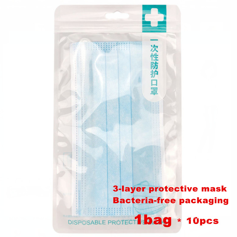 Mascherina 3ply P Meltblown Disposable Laye Hygiene Face Fabric Mask Masque Face Mask Mouth Cap Filter 2.5 F 2 Mascarilla Maske