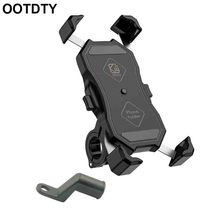 """Universal 360 Degree Rotatable Bike Bicycle Motorcycle Phone Holder Cradle Clamp Mount for iPhone oneplus 3.5 6.5"""" Cellphone"""