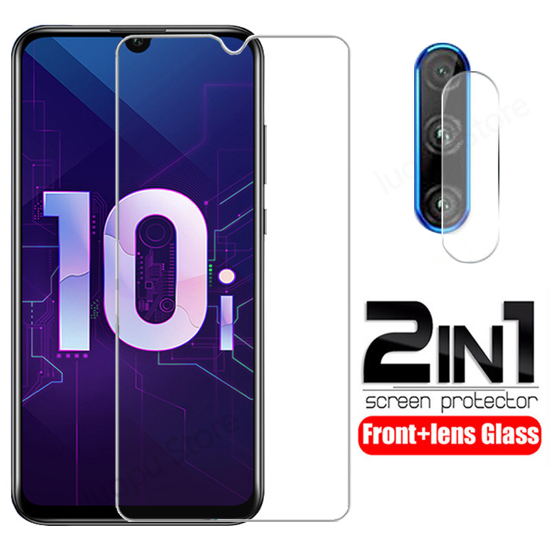 Tempered-Glass Camera Honor 9-Lite Screen-Protective-Glass-Film Huawei for 10i/10-i-10/9-lite/Full-cover