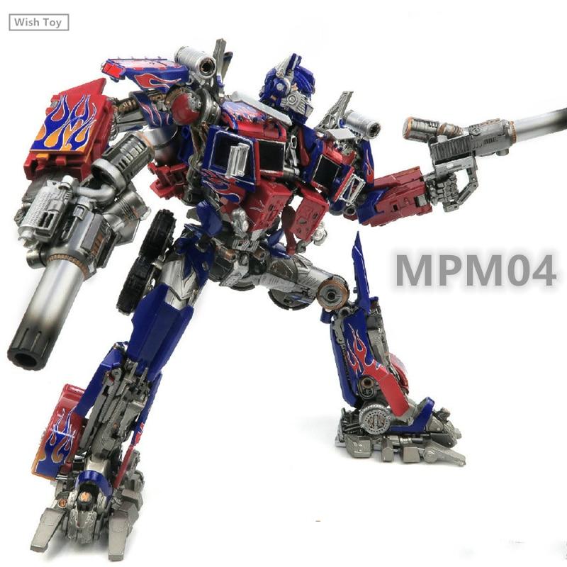 WJ Transformation Robot MPM04 OP Commander G1 MasterPiece MPM03 M01 M05 Brawl Galvatron Alloy Oversize Leader Action Figure Toys