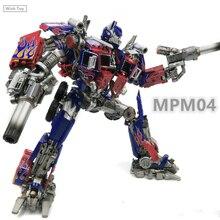 WJ Transformation Roboter MPM04 OP Kommandant G1 Meisterwerk MPM03 M01 M05 Schlägerei Galvatron Legierung Oversize Führer Action Figur Spielzeug