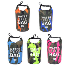 Diving-Bags Swimming-Pouch Waterproof Rafting Outdoor Portable 2L Texture Chic Classic