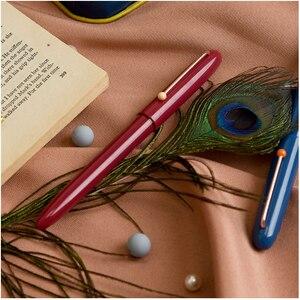 Image 4 - Youpin Kaco רטרו עט ברדס מזרקת ציפורן עט עם דיו מחסנית מתנת סט כתיבה חלקה בפועל תלמיד כתב יד עט 0.38mm